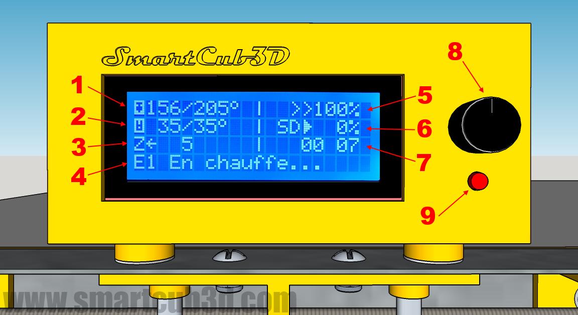 lcd smartcub3d