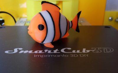 Imprimer en plusieurs couleurs sur votre SmartCub3D