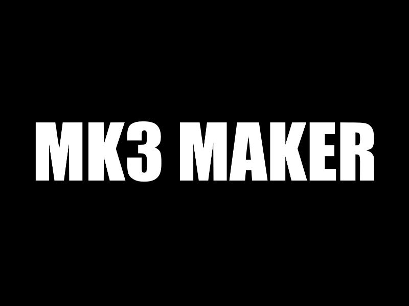 Nouvelle SmartCub3D MK3 MAKER !